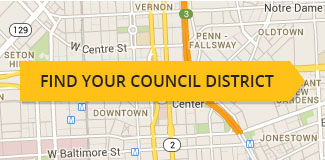 Baltimore City Council District Map Baltimore City Council