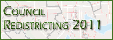 Council Redistricting 2011