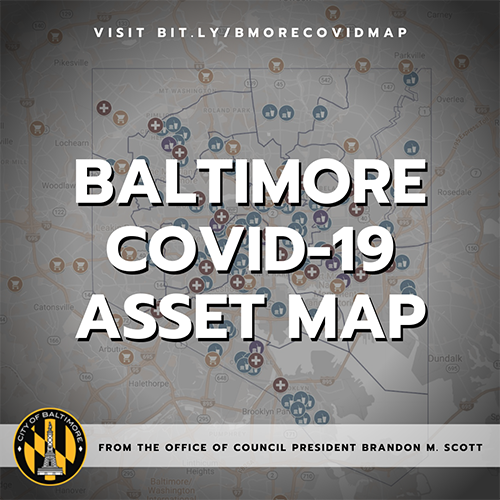 Baltimore COVID-19 Asset Map
